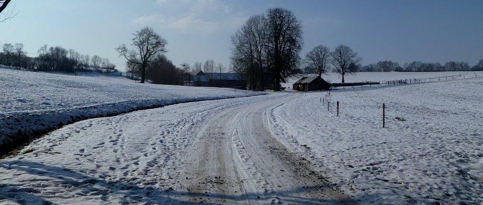 La neige sur Berlieren